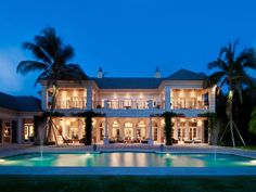 Waterfront Dream Home in Palm Beach, Florida