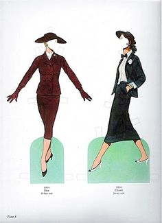 tom tierney great fashion designs of the fifties | gabi's paper dolls
