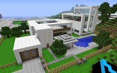My Modern House Minecraft Forum