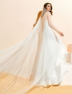 lumière&gracieuse voile de mariage blanc (3m) - EUR € 30.22