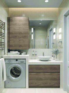 Apartment bathroom vanity decor 59 New ideas Bathroom Vanity Decor, Bathroom Interior Design, Modern Bathroom, Bathroom Ideas, Bathroom Small, Bathroom Colors, Bathroom Renovations, Industrial Bathroom, Budget Bathroom