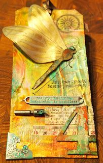 klistersøster: Tim Holtz 12 Tags of 2013 – april