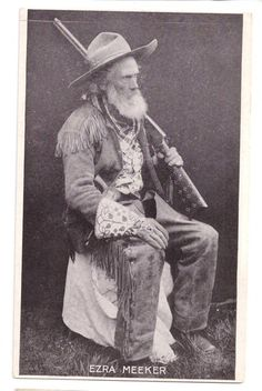Character inspiration: Many colorful old timers hitched themselves to the wagon trains bound for the Western Territories.