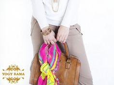 Style YogyRama silk scarf on a handbag  - 'Himalayan Nath' YogyRama pink silk scarf is styled fabulously with a brown handbag. Bringing you clips of behind the scenes of the scarves photoshoot. YOGYRAMA are hand drawn designs using ancient art from the foot of the Himalayas. Each scarf has a story. YOGYRAMA silk scarves are worn by Joanna Lumley, Oscar nominated Juliette Lewis, Supermodel Lindsey Wixson, actress Kate Hallam. www.YogyRama.com www.instagram.com/YogyRama