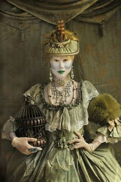... tags for this image include: lee, macabre, makeup, steampunk and shien