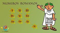 números romanos, matemáticas, infantil, primaria, ejercicios matemáticas, fichas matemáticas