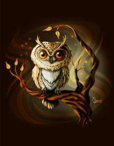 owl drawing, owl art, owl cartoon - New Deko Sites Cartoon Owl Drawing, Owl Cartoon, Cute Cartoon Pictures, Owl Pictures, Owl Bird, Pet Birds, Owl Wallpaper Iphone, Owl Illustration, Owl Photos