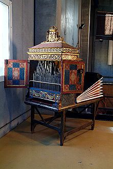 THE ZARAGOZANO ORGAN IN BARCELONAS MUSEUM OF MUSIC probably second half of the 17th century.