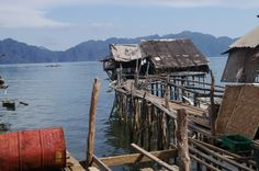 """"""":)"""" by TravelPod blogger marco-2010 from the entry """"Coron"""" on Monday, May 16, 2016 in Coron , Philippines Les Philippines, Coron, Blog Entry, Mountains, House Styles, Nature, Travel, Naturaleza, Viajes"""