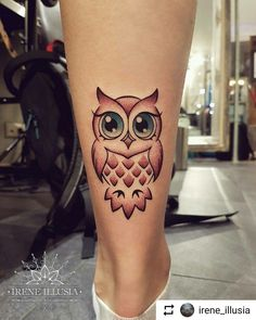 Baby Owl Tattoos, Cute Owl Tattoo, Wrist Tattoos, Mini Tattoos, New Tattoos, Body Art Tattoos, Small Tattoos, Sleeve Tattoos, Cool Tattoos
