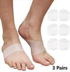 47479aa24c Plantar Fasciitis Arch Support Inserts Gel Cushion Insoles for Flat Feet  High or Fallen Arches. Reduce Foot and Heel Pain Fast.