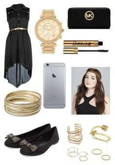 """Untitled #516"" by luisadaniela ❤ liked on Polyvore featuring Steve Madden, Michael Kors, Jeweliq, Allurez, SunaharA, MICHAEL Michael Kors and Wet Seal"