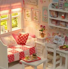 ♥ Custom Handmade Diorama SUMMER CANDY ♥