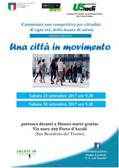 San Benedetto del Tronto: due appuntamenti con Una città in movimento