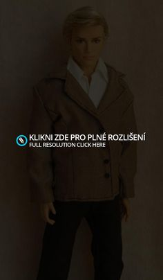 Sport coat for Ken, free pattern