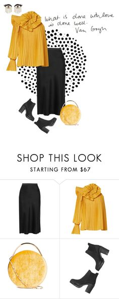 """What is done with love is done well"" by tasteofbliss ❤ liked on Polyvore featuring T By Alexander Wang, Rosie Assoulin, Eddie Borgo, Monki and Sydney Evan"