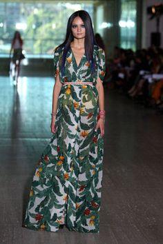 Lisa Ho Banana Palm Maxi Dress