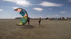 Kitesurfing Cagliari Poetto September 2014
