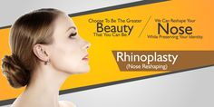 A Nose Surgery, popularly known as Rhinoplasty, is a cosmetic surgical procedure performed to reconstruct and correct the shape, form and function of the nose and providing a naturally appealing look. #nose #nosesurgery #nosereshaping #rhinoplasty #nosejob #surgeon #cost #price #Delhi #India