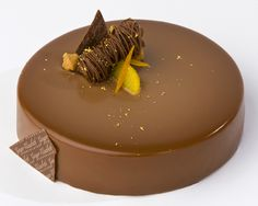 Pastry Chef Ginger Elizabeth Hahn from Sacramento, CA. Recipe: Entremet Caramélia/Rice with Cinnamon and Orange. http://www.valrhonaprofessionals.com/caramelia.html