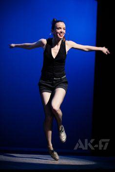 Michelle Dorrance at Joyce Theater      #tap #stepowanie
