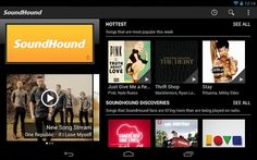 SoundHound partners with Rdio to launch new Android tablet app with improved UI and music discovery