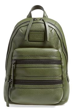 MARC BY MARC JACOBS 'Domo Biker' Leather Backpack available at #Nordstrom
