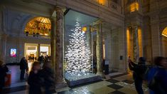 Image result for christmas tree installation victoria and albert hall