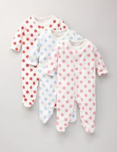 Baby Mabel loves 6-9 mo and 9-12 mo  pajamas! All colors and patterns are great...