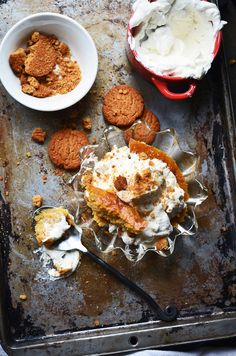 Pumpkin Buttermilk Pudding