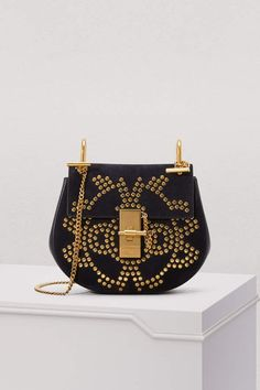 0ad0313dcfbea Buy CHLOE Drew studs shoulder bag online on 24 Sèvres. Shop the latest  trends - Express delivery & free returns