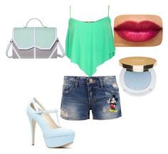 """""""Untitled #15"""" by ninakgir1234 ❤ liked on Polyvore featuring Disney, Emeline Coates and Isaac Mizrahi"""