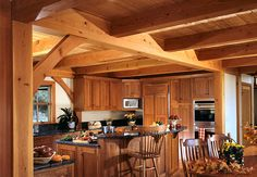 love the post and beams