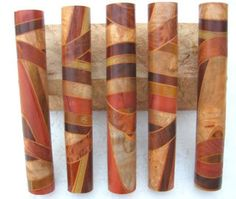 Random Segmented Pen Blanks - International Association of Penturners