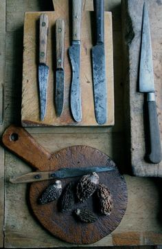 Old Cooking Knives. I am so going to start my own collection!
