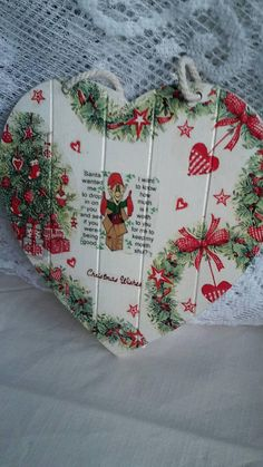 9 Best Christmas decoupage ideas images
