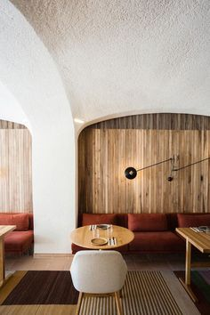 isay weinfeld designs 'the green spot' restaurant in barcelona