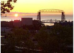 Duluth sunrise -- i miss this <3 love