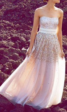 MODE THE WORLD: 2014 New Sequins Prom Dress Style