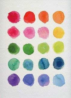 watercolors  from design darling