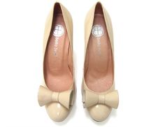 Taken Nude, Lucky shoes for brides $ 120 #bridalshoes #vintageshoes #bellabelleshoes