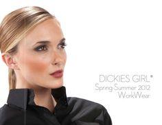 Dickies Girl, Spring/Summer 2012, catalog printed by Preston Litho + Studio. www.prestonlitho.com, #fashion