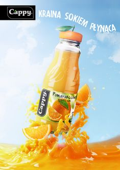 https://www.behance.net/gallery/35152829/Cappy-Orange-Juice-Advert