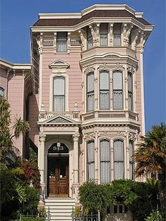 The Inn San Francisco, a Bed and Breakfast in a 1883 Pink Italianate house