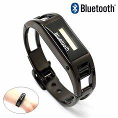Bluetooth LCD Caller ID vibrerende armbånd Bluetooth, Caller Id, Headset, Wristlets, Headphones, Headpieces, Hockey Helmet, Ear Phones