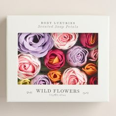 These fancy soap petals. | 21 Lovely Wildflower Products To Lighten Up Your Life