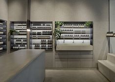 Tolila+Gilliland convert jewellery shop into felt-clad Aesop store in London