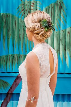 Hair-styling - @Brideshair.co.uk Photo from Styled   Floridian Botanics collection by RGW PHOTOS SEEN in Brides Magazine Wedding Hairdressers, Civil Ceremony, Bride Hairstyles, On Your Wedding Day, Bridal Hair, Flower Girl Dresses, Bridesmaid, Magazine, Long Hair Styles