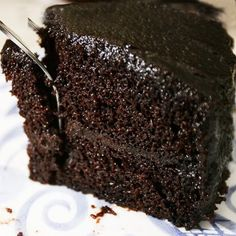 """Wicked Choc Cake mix: 1/2 c butter- soft 1 1/4 c sugar -- add: 3 eggs -- 3/4 cup milk 1 tsp. vanilla -- 1-2/3 cups flour 1 tsp. baking soda 1/4 tsp. salt --- add: 1 pkg. (4 oz.) BAKERS Unsweetened Chocolate, melted w 1/2 c sugar 1/2 cup water, hot -- bake 350 33 min. (2 9"""" pan)"""