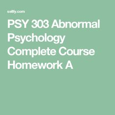 HCA 430 Special Populations Complete Course Homework A Ashford University, Abnormal Psychology, Math Help, Case Study, Homework